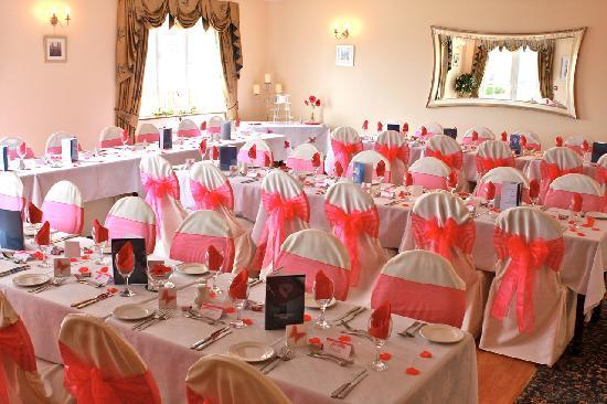 Solway Lodge Hotel: Our wedding breakfast in function room