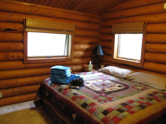 Alaska Serenity Lodge: Bedroom - can be king or twins