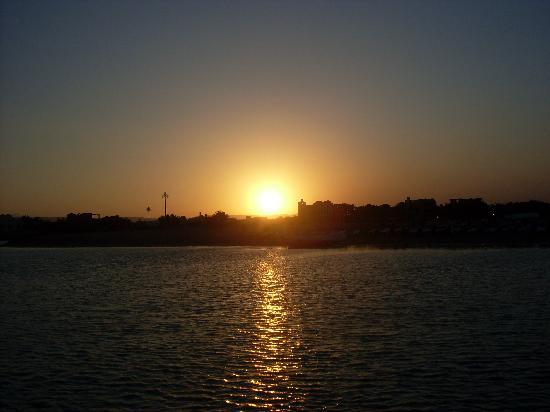 Panorama Bungalows Resort El Gouna: Beautiful sunset