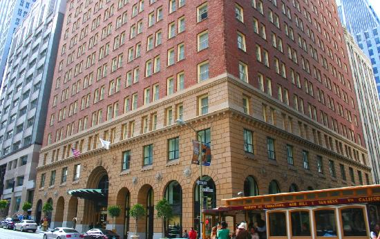 Omni San Francisco Hotel: Hotel