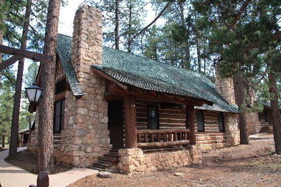 Innenaufnahme cabin picture of bryce canyon lodge bryce for Bryce canyon cabin rentals