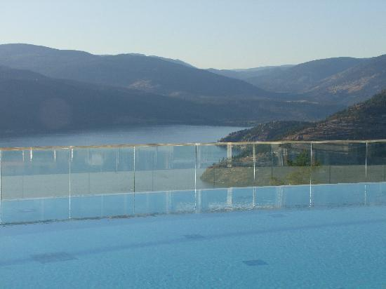 Sparkling Hill Resort: View from outdoor infinity pool