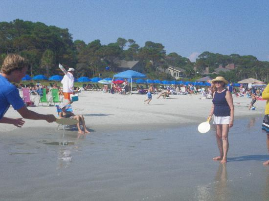 Spicebush at Sea Pines Resort: The nearby beach