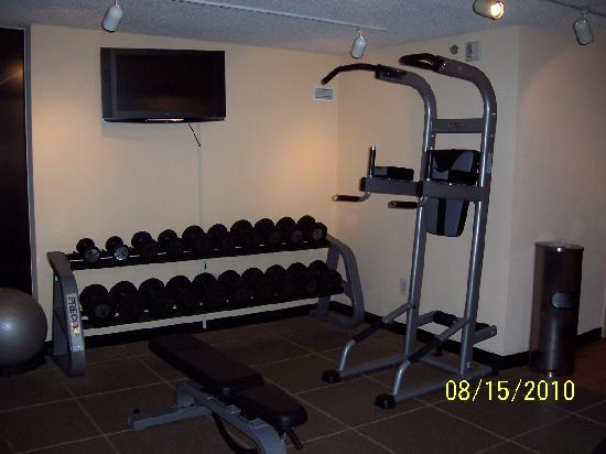 Doubletree Hotel Santa Ana/Orange County Airport: Fitness Center