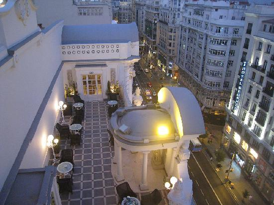 View Of The Rooftop Terrace From The Dome Picture Of