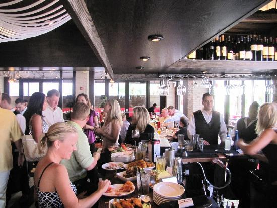 Exterior/Patrons Dining - Picture of Racks Downtown Eatery ...