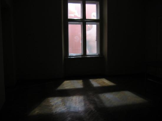 Trecius Guesthouse: Limited view out windows