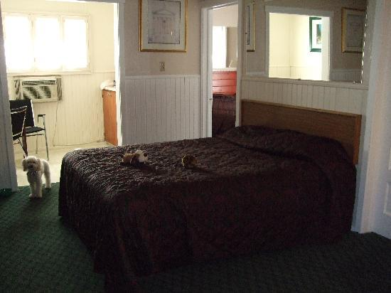 Evergreen Inn: Now look at the website pic of rooms