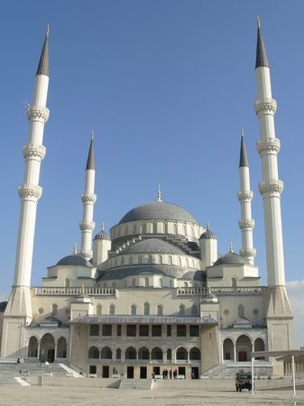 Ankara, Turkiet: Kocatepe Mosque