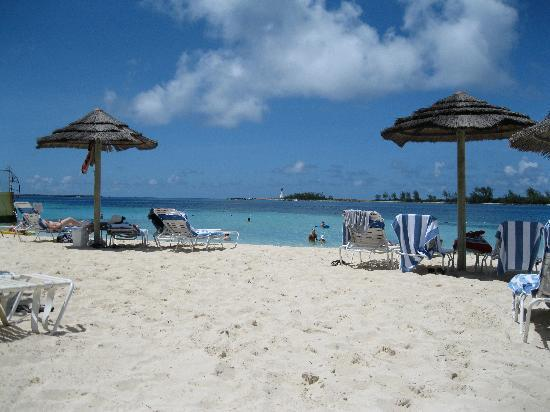British Colonial Hilton Nassau: PRIVATE beach