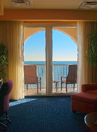 Jacksonville Beach, FL: Oceanfront Room View