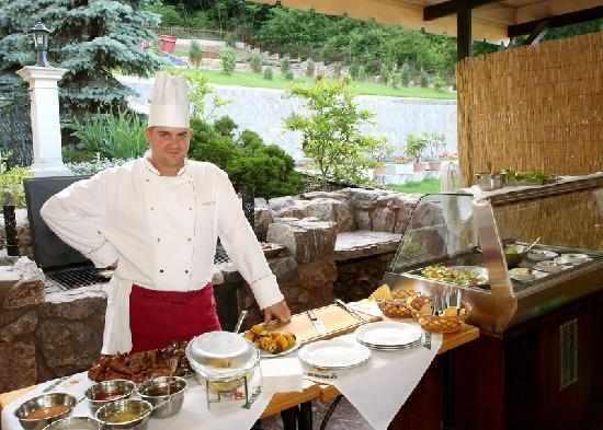 Parkhotel Brno: barbecue in Brno