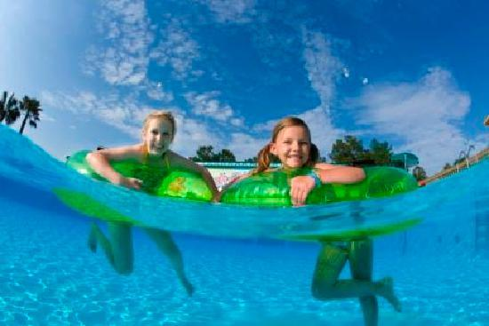 Valdosta, GA: Cool off in Splash Island Water Park, April - September, included with park admission.