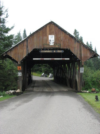 Pittsburg, NH: lots of covered bridges