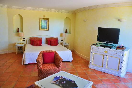 Chateau De La Messardiere : Suite Junior vue mer