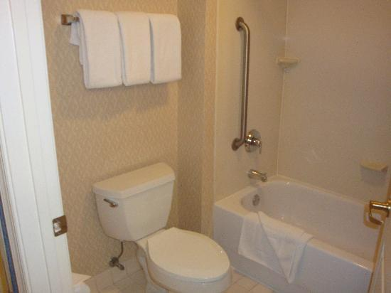 Residence Inn Washington/Dupont Circle: Shower