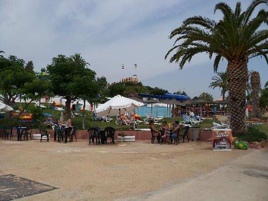 Alcantarilha, Portugal: The park - it was overcast the day we went