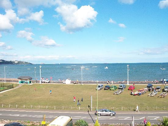 Paignton, UK: view from our bedroom