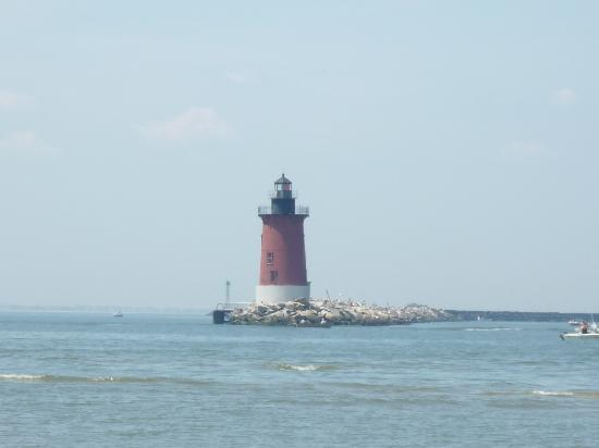 Lewes, DE: Lighthouse on the Delaware Bay