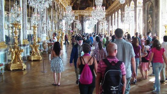 Versailles, France : castello