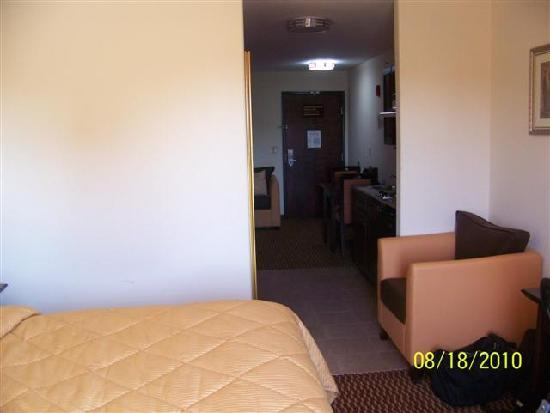 Comfort Inn and Suites: View of room from window