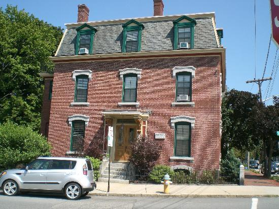 Morrill Mansion Bed &amp; Breakfast: From across the street