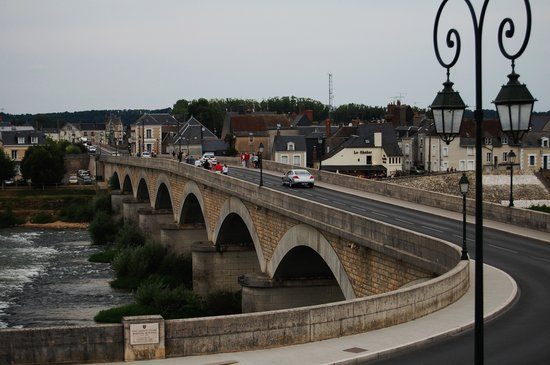 Amboise, France: view of river from terrace