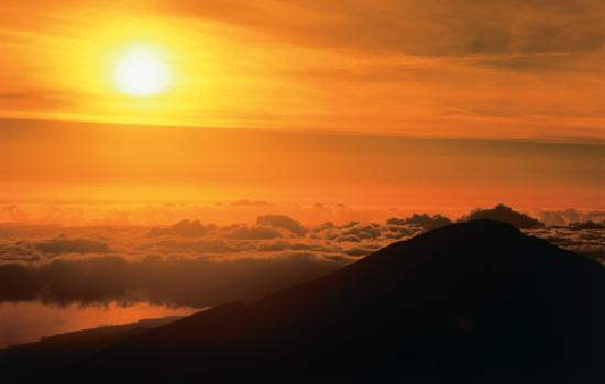 Maui, HI: Witness the spectacle of the Haleakala sunrise on the rim of a volcano.
