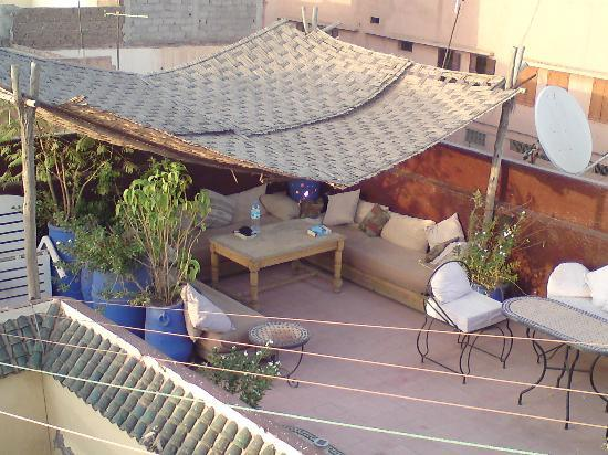 Riad Ghallia: Roof terrace