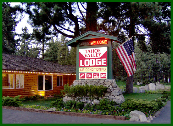 Tahoe Valley Lodge: Welcome To South Lake Tahoe