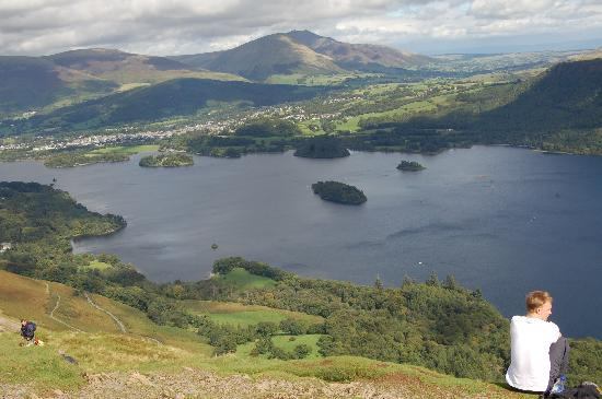 ‪كيسويك, UK: Derwent Water from Cat Bells‬