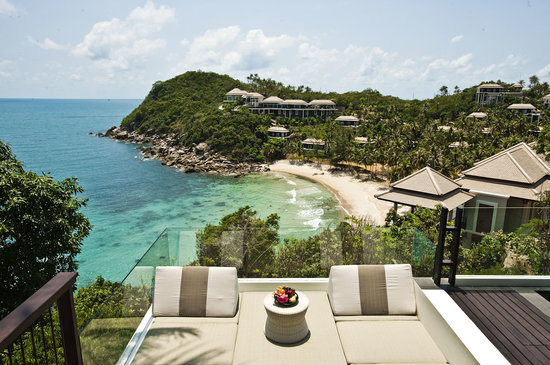 Banyan Tree Samui: View from the Villa