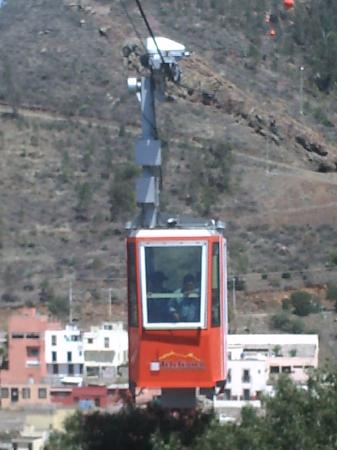 Zacatecas, Mexique : Cable car