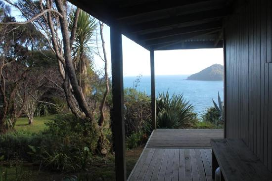 Great Barrier Island, Νέα Ζηλανδία: Side view