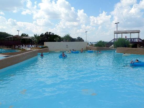 Flying L Guest Ranch: The Wave Pool.