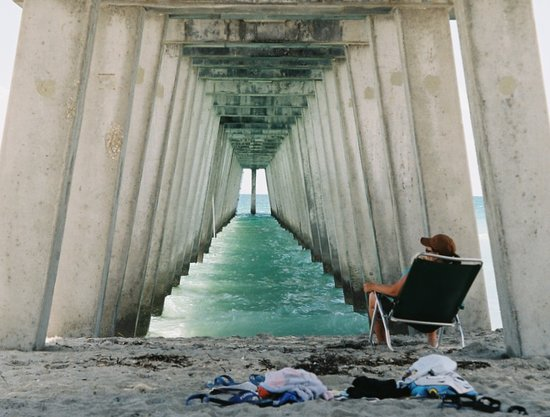 , : Venice Florida Fishing Pier Is A Great Place To Visit