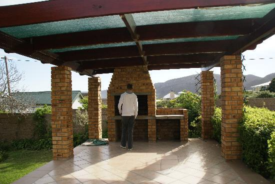 Milkwood Lodge: Le traditionnel braai