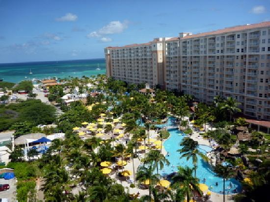 View From Our Room 1801 Picture Of Marriott S Aruba
