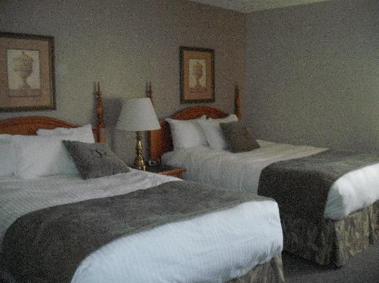 Stone Gate Inn: 2 slightly uncomfortable beds