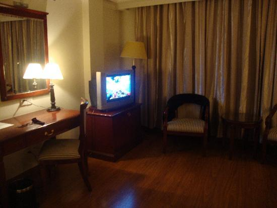 Lux Riverside Hotel &amp; Apartments: TV and desk
