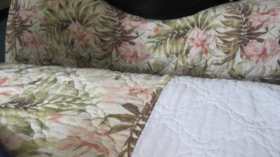 Falmouth Inn: Old / Dated linens