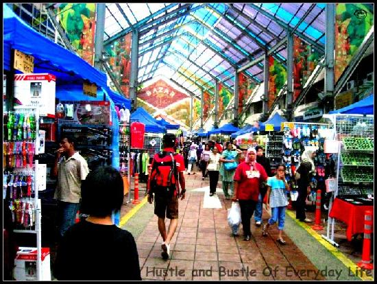 A View Of Petaling Street In The Afternoon Picture Of