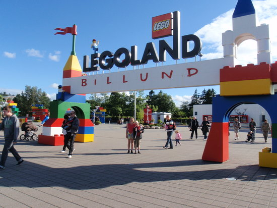 Billund, Danemark : A great day at Legoland