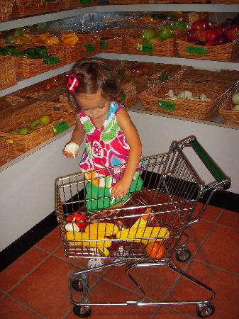 Greensboro, Caroline du Nord : The grocery store exhibit