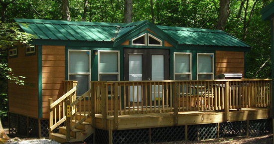 Williamsburg KOA Campground: Kamping Lodge