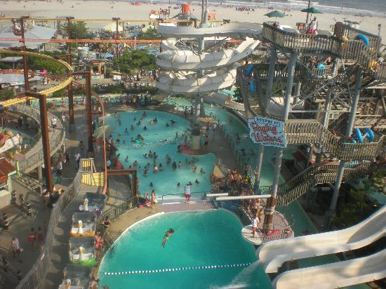Wildwood, Nueva Jersey: view from the ferris wheel!