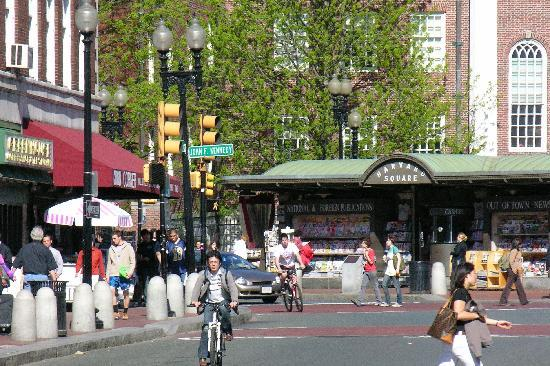 Cambridge, MA: Harvard Square