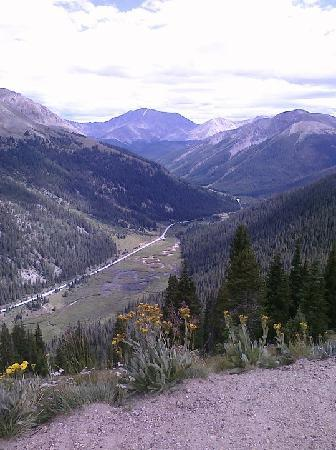 Annabelle Inn: Heading up Independence Pass