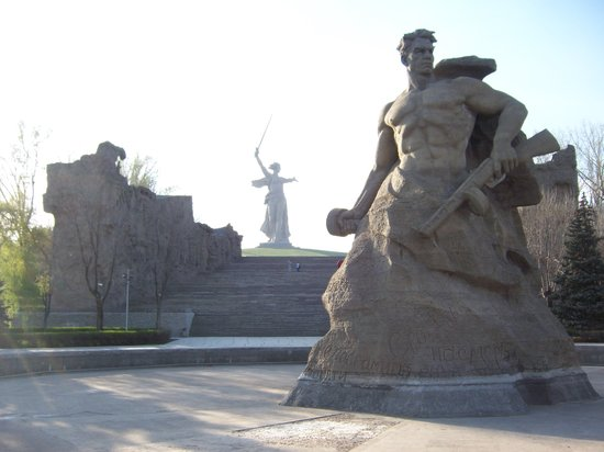 Volgograd, Russia: Very moving and emotional