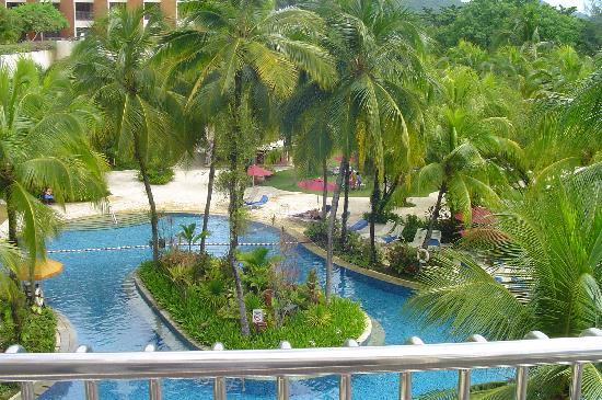 PARKROYAL Penang Resort, Malaysia: room with a great veiw